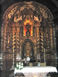 Guipuzcoa Azpeitia Santuario de Loyola. Altar Mayor