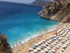 #Kaputas beach in #Antalya province in 80 km from #Fethiye #Hisaronu #Oludeniz