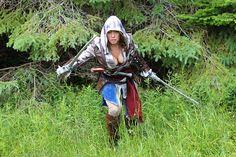 Naomi Von Kreeps is Edward Kenway, Assassin