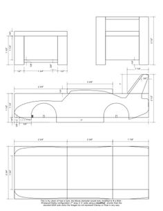 Printable Pinewood Derby Patterns | Car Pinewood Derby Truck ...