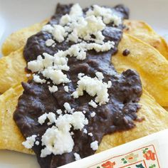 Enfrijolada RecipeDon't forget to Repin, like and follow me for more great recipes