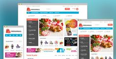 MegaMall- Responsive magento for Super market
