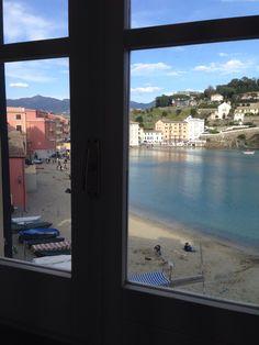 Dalla nostra finestra ABC Centro di studi linguistici, Sestri Levante (Liguria), Baia del Silenzio. Corsi di italiano per stranieri e di lingue straniere per italiani. Italian for foreigners.