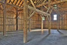 How to Build a Pole Barn :: interior look