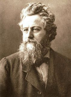 What an inspirational firebrand William Morris is!