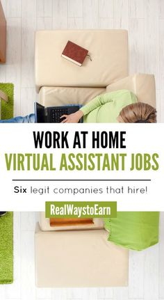 Want to be a work at home virtual assistant? Here's an updated list of six legit companies that regularly hire for it!
