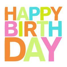 Happy birthday Jill!  (It's today, right?)