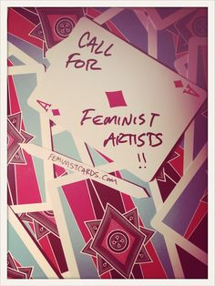 ladypoints:  feministcards:  Design the next Feminist Playing Card deck! details here.  Friendly reminder to anyone who wants to be a part of an awesome feminist project. The deadline is October 15!