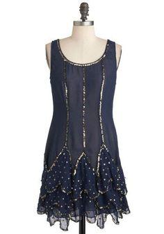 Art Deco Ball Dress
