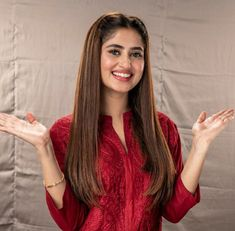 Hairstyles For Round Faces .Hairstyles For Round Faces Pakistani Girl, Pakistani Actress, Beauty Full Girl, Beauty Women, Sajal Ali Wedding, Brunette Hair With Highlights, Sajjal Ali, Cute Girl Poses, Stylish Girl Pic
