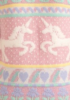 Unicorn sweater by Heartworks