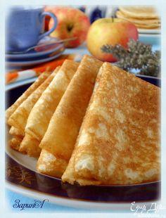Гурьевские блины | Кулинарные рецепты от «Едим дома!»