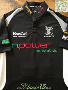23 Best Classic Ospreys Rugby Shirts images in 2019  9e3c9acc3