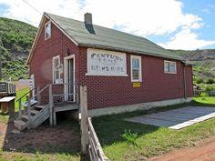 Mine Office at The Atlas Coal Mine National Historical Site near Drumheller, Alberta, Canada