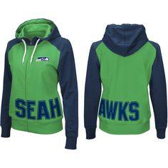 e37917ca6 G-Iii Women s Seattle Seahawks Wildcat Full-Zip Hoodie