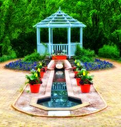 Gazebo Garden at Kingwood Center - Mansfield,Ohio