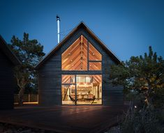 Big Cabin Little Cabin by Renee del Gaudio