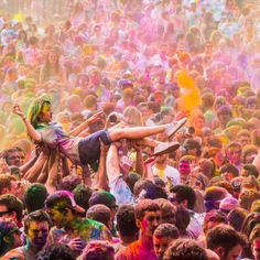 A festival of colour