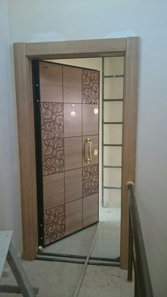 Bedroom Door Design, Door Gate Design, Door Design Interior, Wooden Door Design, Main Door Design, House Front Design, Interior Exterior, Exterior Doors, Wooden Doors
