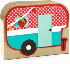 Silhouette Design Store - View Design #62402: 3d camper box