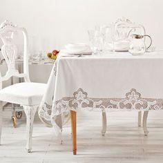 Tovaglie tablecloth on pinterest tablecloths linen for Tovaglie zara home