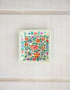 Floral trinket tray {The Little Market}
