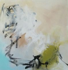 Looking for Something 1 by Kinka Snow, 12 x 12 Acrylic, #abstractart #abstractexpressionism, #kinkasnow
