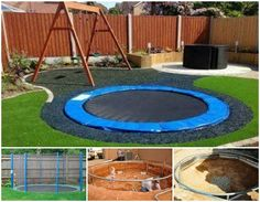 Given the incredible number of accidents that occur on trampolines, this DIY inground trampoline is a great solution! http://theownerbuildernetwork.co/is05
