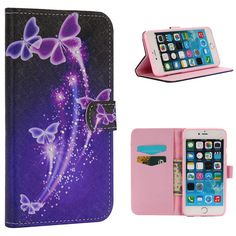 """New Series Purple Bling Magnetic Style Wallet Closure PU Leather Flip Stand Case Cover for Apple iPhone 6 6s 4.7"""" // iPhone Covers Online //   Price: $ 12.52 & FREE Shipping  //   http://iphonecoversonline.com //   Whatsapp +918826444100    #iphonecoversonline #iphone6 #iphone5 #iphone4 #iphonecases #apple #iphonecase #iphonecovers #gadget #gadgets"""