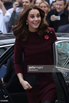 Catherine, Duchess of Cambridge arrives at the annual Place2Be School Leaders Forum at UBS London on November 8, 2017 in London, England. The Duchess of Cambridge is Patron of Place2Be, a National Children's mental health charity.