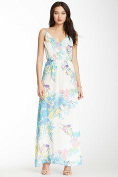 Yumi Kim Cleo Silk Maxi Dress