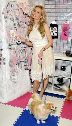 What do you think of Holly Madison's new Lucky Pet Product line?  www.SuperZoo.org