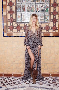 Spotted leopard maxi – TrendRush