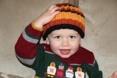 Free knitted small child's hat pattern. Join the latest Laws Of Knitting Knit Along. Free pattern and video tutorials provided.