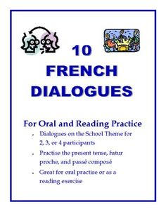 Give your students excellent practice with authentic dialogues before you set them free on their own conversations.  A great way to practice both reading and spoken production skills (CEFR).