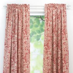 Chooty & Co Mardi Gras Cotton Rod Pocket Curtain Panel | Wayfair