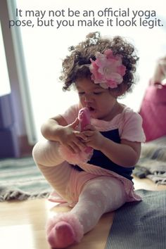 Yoga Master in the Making
