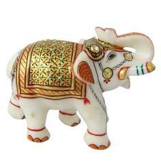 statue and collectibles handmade elephant idol hindu art figurine. Buy direct from India online shopping lord krishna sculpture; statue and collectibles handmade elephant idol hindu art figurine Full satisfaction or full refund guarantee.