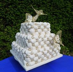 billowing cake | Cake with billow effect