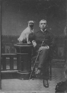 a man and his pug