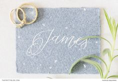 This place card featured a muted blue tone and curvaceous lettering, giving it an enchanting look and feel. Wedding Stationery Inspiration, Elopement Inspiration, Paris Elopement, Romantic Paris, Blue Tones, Place Cards, Jewellery, Lettering, Photography