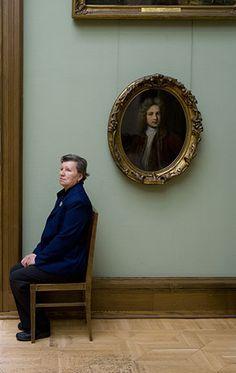From Andy Freeberg's series entitled Guardians. Portrait of Y.M.Yevreinov, Artist, State Tretyakov Gallery