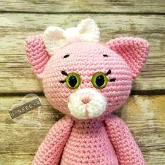 Kissy Kitty Amigurumi Crochet Pattern