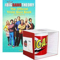Big Bang Theory Mug and The Official Trivia Quiz Book Set | Trivia Books at The…