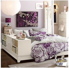 Looking for a cool, stylish and attractive teen bedroom design? It takes a design perspective from a teenager's perspective to be able to produce the most ideal teenage bedroom design. Bedroom Decor For Teen Girls, Teen Girl Rooms, Teenage Girl Bedrooms, Teenage Room, Bedroom Ideas, Bedroom Designs, Boy Bedrooms, Small Bedrooms, Bedroom Inspiration