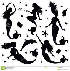 Mermaids. Royalty Free Stock Photography - Image: 28093487