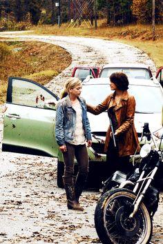 The Greene Sisters. The Walking Dead
