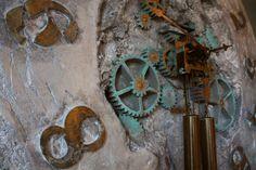 duży zegar scienny