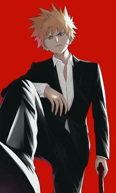 My Hero Academia - Bakugou Katsuki Boku No Hero Academia, My Hero Academia Memes, Hero Academia Characters, My Hero Academia Manga, Anime Characters, Hot Anime Boy, Anime Love, Anime Guys, Tsundere