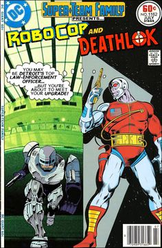 Super-Team Family: The Lost Issues!: Robocop and Deathlok